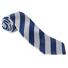 Buy Hornsby House School Boys' Years 3 - 6 Tie, Navy/Grey Online at johnlewis.com