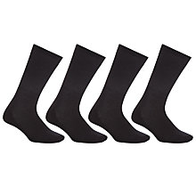 Buy John Lewis Sport Cushion Sole Socks, Pack of 4 Online at johnlewis.com