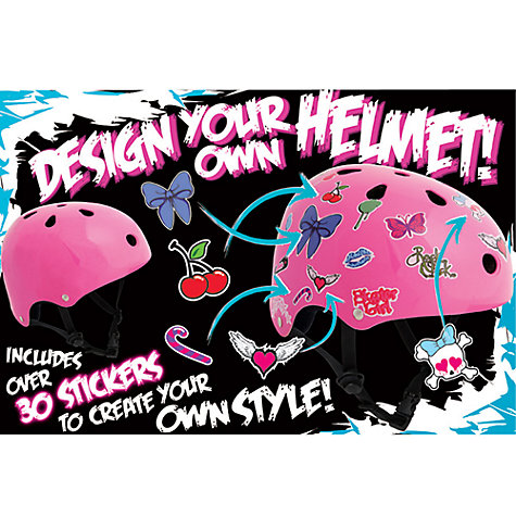 Buy SFR Skates Helmet, Hot Pink Online at johnlewis.com