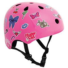 Buy Stateside Skates Stickered Helmet, Pink Online at johnlewis.com