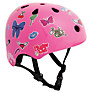 Stateside Skates Stickered Helmet, Pink