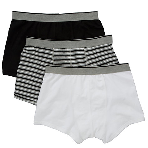 Buy John Lewis Hipster Trunks, Pack of 3 Online at johnlewis.com