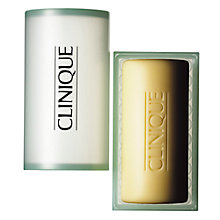 Buy Clinique Facial Soap with Dish, 150g Online at johnlewis.com