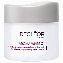 Buy Decléor Recovery Brightening Night Cream, 50ml Online at johnlewis.com