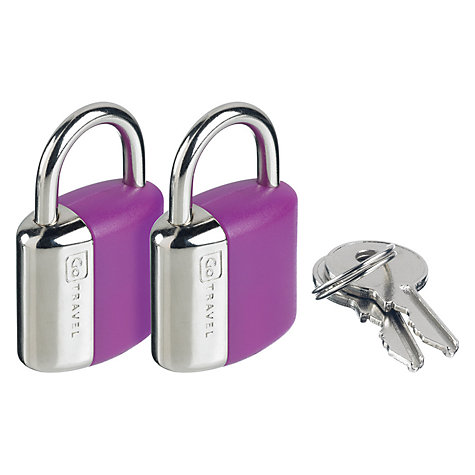 Buy Go Travel Glo Key Locks, Green Online at johnlewis.com