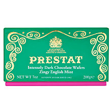 Buy Prestat Dark Chocolate Mint Wafers, 200g Online at johnlewis.com