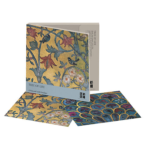 Buy Museums & Galleries Tree Of Life Notecards, Pack of 8 Online at johnlewis.com