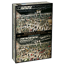 Buy Gibsons Waterloo Station Jigsaw Puzzle Online at johnlewis.com