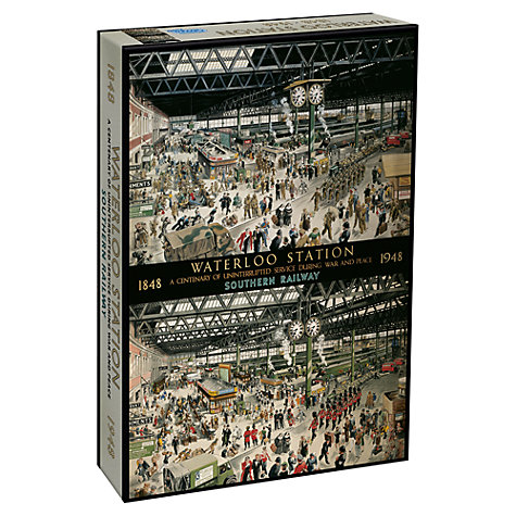 Buy Gibsons Waterloo Station Puzzle Online at johnlewis.com