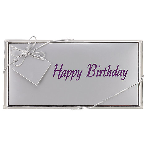 Buy Ambassadors of London 'Happy Birthday' Chocolate Bar, 100g Online at johnlewis.com