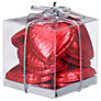 Ambassadors of London Red Foiled Chocolate Hearts, 50g