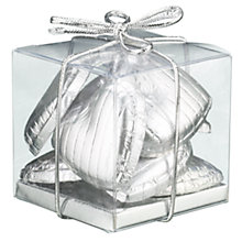 Buy Ambassadors of London Silver Foiled Chocolate Hearts, 50g Online at johnlewis.com