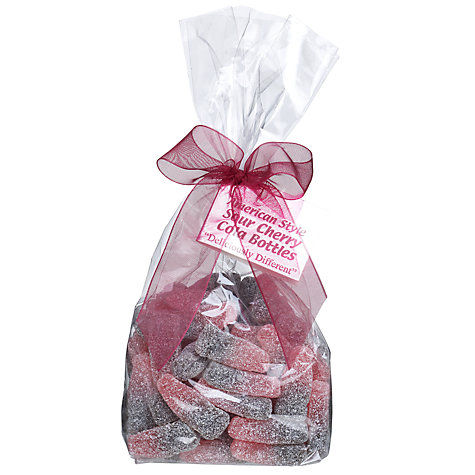 Buy Ambassadors of London Sour Cherry Cola Bottle Sweets, 250g Online at johnlewis.com