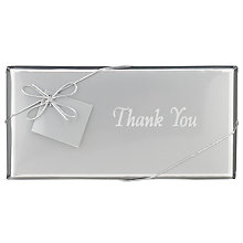 Buy Ambassadors of London 'Thank You' Chocolate Bar, 100g Online at johnlewis.com