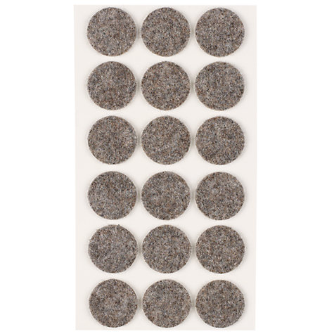 Buy John Lewis Felt Pads, Dia.26mm Online at johnlewis.com