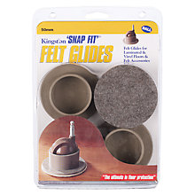 Buy Felt Castor Covers for 50mm Ball Wheel, Set of 4 Online at johnlewis.com