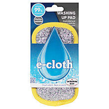 Buy e-cloth Washing-Up Pad Online at johnlewis.com