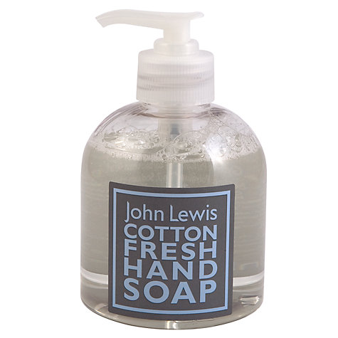 Buy John Lewis Cotton Fresh Hand Soap, 300ml Online at johnlewis.com