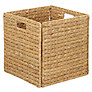 John Lewis Water Hyacinth Folding Basket
