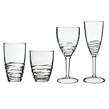 Buy John Lewis Wave Acrylic Glasses Online at johnlewis.com