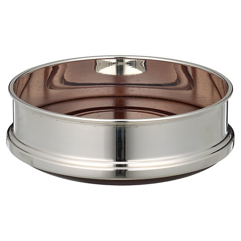 Buy Carrs Coaster, Silver Plated, Small Online at johnlewis.com