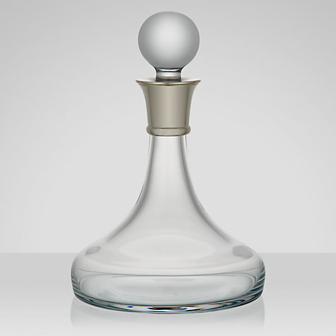 Buy Carrs Ship's Wine Decanter, 0.75L Online at johnlewis.com
