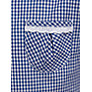 Buy John Lewis Check Print Cotton Summer Dress, Navy Online at johnlewis.com