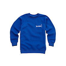 Buy Heronsgate School Unisex Sweatshirt, Blue Online at johnlewis.com