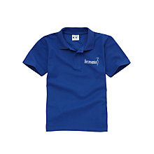 Buy Heronsgate School Unisex Polo Shirt, Royal Blue Online at johnlewis.com