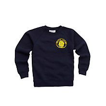Buy High Ash Combined C of E School Unisex Sweatshirt, Navy Online at johnlewis.com