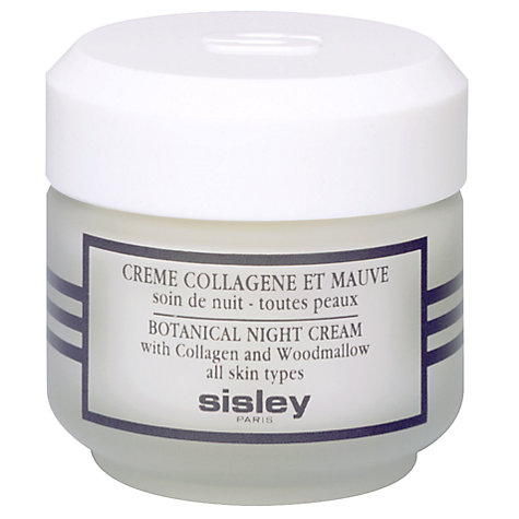 Buy Sisley Night Cream with Collagen and Woodmallow, 50ml Online at johnlewis.com