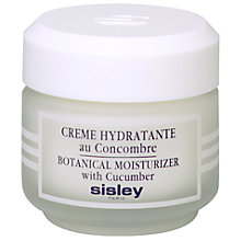 Buy Sisley Moisturiser with Cucumber Jar, 50ml Online at johnlewis.com