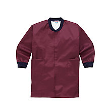 Buy School Painting Overall, Maroon Online at johnlewis.com
