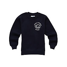 Buy Priory Common School Unisex Sweatshirt, Navy Online at johnlewis.com
