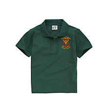 Buy St Louis Primary School Boys' Summer Polo Shirt, Bottle Green Online at johnlewis.com