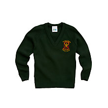 Buy St Louis Primary School Boys' Jumper, Bottle Green Online at johnlewis.com