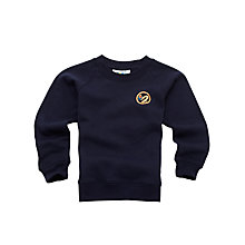 Buy Swanbourne House School Unisex Sweatshirt, Navy Online at johnlewis.com
