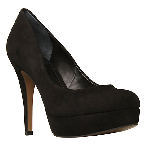 Buy Carvela Amelia Suede Platform Court Shoes Online at johnlewis.com