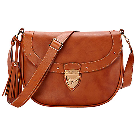 Buy Aspinal Portabello Saddle Handbag Online at johnlewis.com