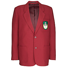 Buy The Broxbourne School Boys' Blazer, Maroon Online at johnlewis.com