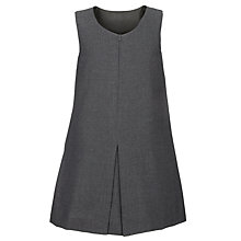 Buy Girls' A-Line School Tunic, Grey Online at johnlewis.com