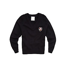 Buy St George's School Boys' Jumper, Navy Online at johnlewis.com