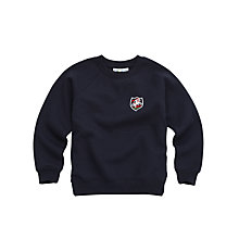 Buy St George's School Unisex Sweatshirt, Navy Online at johnlewis.com