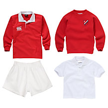The Hamilton School Boys' Sports Uniform