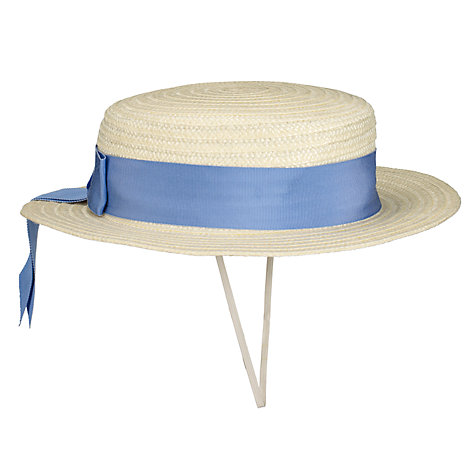 Buy School Girls' Summer Boater Online at johnlewis.com
