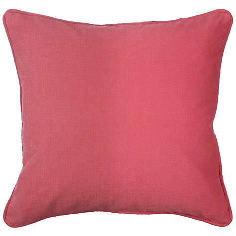 Buy John Lewis Macao Cushion, Cranberry Online at johnlewis.com