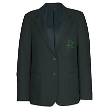 Buy Redland High School Girls' Blazer, Bottle Green Online at johnlewis.com