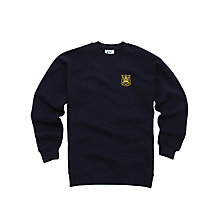 Buy The Castle School Unisex Sweatshirt, Navy Online at johnlewis.com