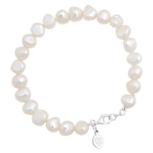 Buy Claudia Bradby Simple White Pearl Bracelet Online at johnlewis.com