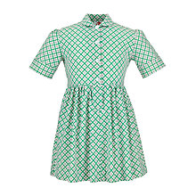 Buy Redland High School Summer Dress, Green/Yellow Online at johnlewis.com